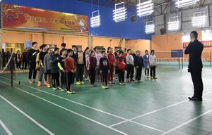 城厢区少体校羽毛球训练基地选拔羽毛球人才