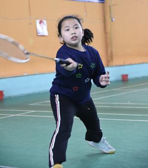 城厢区青少年羽毛球队比赛选拔