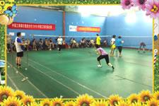 莆田市工商银行职工羽毛球比赛在阔口羽毛球馆举行